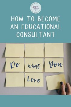 How to become an educational consultant Education Jobs, Bilingual Education, Education Consultant, Teacher Blogs, New Teachers, Teacher Resources, Classroom Routines, Classroom Procedures, Teacher Encouragement Quotes