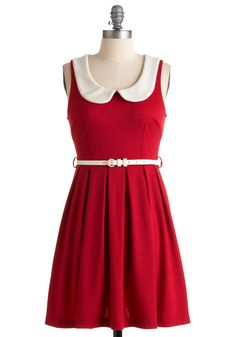 Adorable! Found this on one of my favorite websites Modcloth.com. They have a great selection, especially when it come to dresses:)!