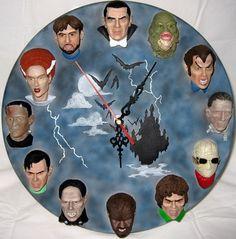 Universal Monsters Wall Clock Kit