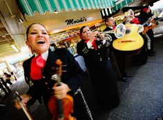 Wouldn't be a fiesta without some mariachi music!