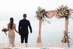 Sea view wedding in Chania by www.creteforlove.com