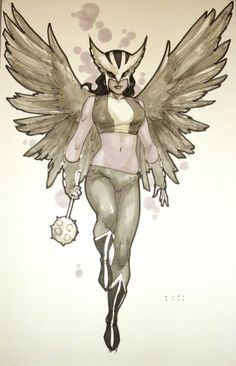Hawkgirl by Phil Noto
