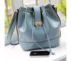 Vintage Bucket Bag in Blue or Mint ( Promotion Sale + Free expedited shipping ) $35.00