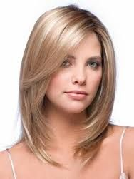 layered medium hairstyles for thin hair - Google Search