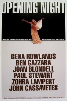 Opening Night / John Cassavetes