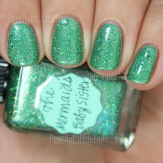 Lynnderella The Mermaid's Baby Sister | Peachy Polish