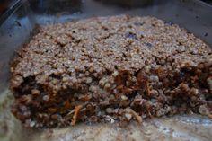 Fotorecept: Mrkvovo-orechový pohánkový nákyp