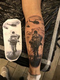Forarm Tattoos, Cool Forearm Tattoos, Body Art Tattoos, New Tattoos, Tattoos For Guys, Tatoos, Army Tattoos, Leg Tattoos Women, Military Tattoos