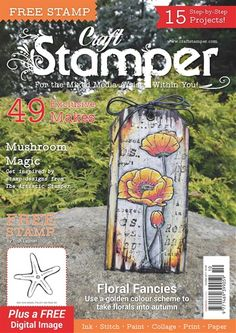 Craft Stamper Magazin Oktober 2017 www.papercrafts.ch