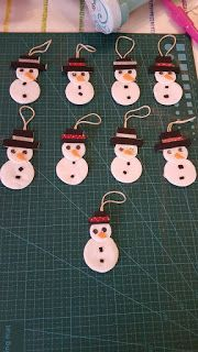 Christmas Tree Decorations For Kids, Christmas Favors, Christmas Ornament Crafts, Craft Stick Crafts, Kids Christmas, Diy And Crafts, Christmas Crafts, Crafts For Kids, Classroom Art Projects