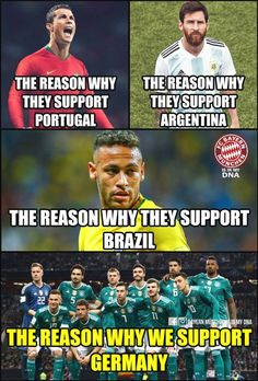 I will support Germany  forever #SoccerMadeinGermany