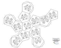 zegar Kydex, Pattern Paper, Math, Cards, Montessori, Free, Math Resources, Maps