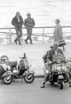 Mods On Pinterest Rockers Vespas And Scooters