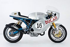 Perhaps the most famous racing Ducati of all time is the 750 that took Englishman Paul Smart to victory in the 1972 Imola 200 race. This replica is based on a SportClassic, and has been given a serious performance upgrade.