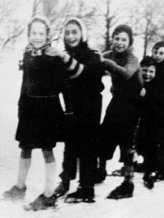 1941 - Anne Frank on ice