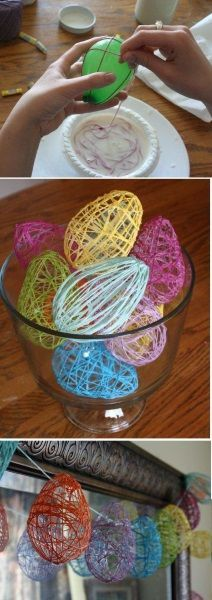 It's time to get crafty! How about Easter egg buntings?
