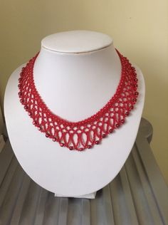 A netted collar