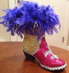 Confessions of a glitter addict: Muses Shoe BOOT!