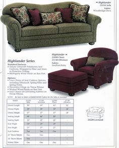 Charming Carolina Country Furniture  Highlander Series