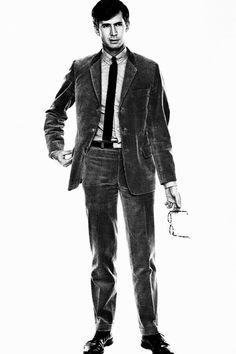 Anthony Perkins, 1960's