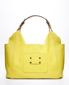 Love this, love this, love this!  Luxe Leather City Bag from Ann Taylor.