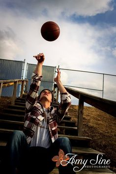 Basketball senior pictures