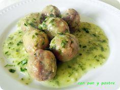 postres dieta disociada albondigas en salsa verde