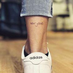 1499 Me gusta 16 comentarios Little Tattoos (Kathy Davis-Reid.tattoos) en In Back Of Ankle Tattoo, Ankle Tattoos, Word Tattoos, Mini Tattoos, Cute Tattoos, Body Art Tattoos, Heart Tattoos, New York Tattoo, Nyc Tattoo