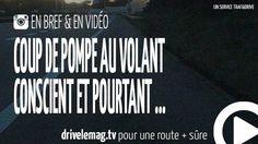 #VIDÉOBRÈVE #fatigue au volant conscient et pourtant ...: 1 Français sur 4 reconnait avoir déjà mordu sur le bas côté… pour + d'infos/vidéo