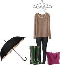 """""""SXSW in the rain"""" by cakestyle on Polyvore"""