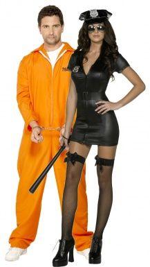 Policière et Prisonnier