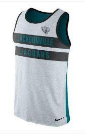 NFL Jacksonville Jaguars Nike Mens Tri Blend Tank Top