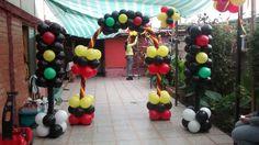 decoración de cars con globos - Buscar con Google