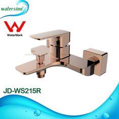 Rose Gold Shower Mixer Wall Mounted Shower Set