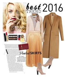 """Best Trend of 2016: Pleated Skirts"" by ellie366 ❤ liked on Polyvore featuring Joseph, ADRIANA DEGREAS, Nicole Miller, Jimmy Choo, Valentino, NYX, NARS Cosmetics, Marc Jacobs, skirt and pleated"