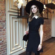 Chiara Ferragni at Berlin Fashion Week wearing an RL #Polo dress.