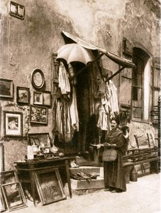 small shop in Jewish region Bratislava, Old Photos, Painting, Hungary, Times, Art, Street, Shop, Photography
