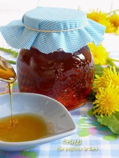 Miele di Tarassaco - Dandelion Honey Recipe - Ortaggi che passione by Sara