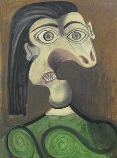 """Portrait of Dora Maar""   Lithograph"