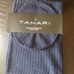 Tahari hat & Infinity scarf set Brand new nicely packaged 2 piece gift set . Tahari Accessories Hats