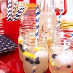 Red, white, and blue party essentials make us #HomeGoodsHappy. By @mrserikaward  via Instagram