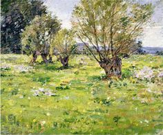 American Impressionism Paintings | Theodore Robinson 1852-1896 | American impressionist