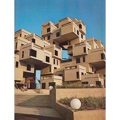 "2,658 Me gusta, 15 comentarios - NOWNESS (@nowness) en Instagram: ""Habitat 1967 Montreal, Canada . #Architecture"""