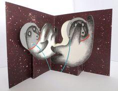 carte popup espace