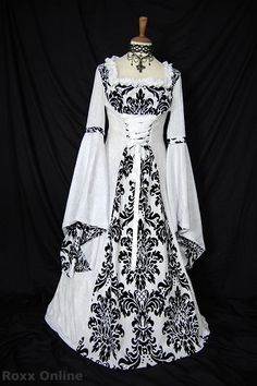Medieval bridal gown