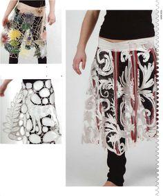 Karen Nicol, by TEXTILE DESIGNERS. Textile Fiber Art, Textile Artists, Textile Design, Fabric Design, Textiles Sketchbook, 3d Cnc, Textiles Techniques, Fabric Manipulation, Cutwork