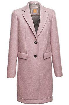 Coat 'Obecki' in new-wool blend - 2700 kr. http://www.hugoboss.com/uk/coat-%27obecki%27-in-new-wool-blend/hbeu50296237.html?cgid=11800&dwvar_hbeu50296237_color=531_Light%20Purple#start=1