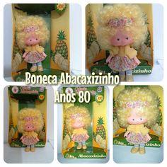 Boneca Moranguinho/abacaxizinho Anos 80 Brinquedo Antigo - R$ 250,00 no MercadoLivre