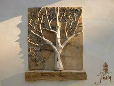 árbol cerámico, Ángeles Terán
