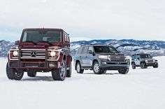 When the world ends, which SUV will you want to drive: The Jeep Wrangler, Mercedes-Benz G-Class, or Toyota Land Cruiser? Read the comparison here.